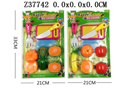 Cut fruits and vegetables(2S)